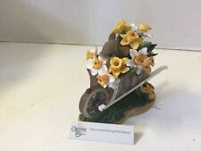 Fitz Floyd Charming Tails You're Overflowing with Beauty 89/222 Mouse Flowers