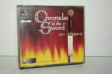 CHRONICLES OF THE SWORD GIOCO USATO OTTIMO STATO ITALIANO BLACK LABEL FR1 37029