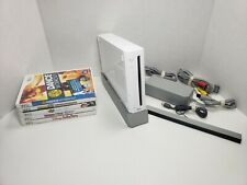Nintendo Wii RVL-100 console  + 5 games. Tested/works. No Controllers