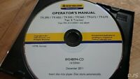 NEW HOLLAND T9.390 T9.450 T9.505 T9.560 T9.615 T9.670 OPERATORS MANUAL CD DN153