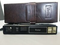 Vintage Vivitar 604 camera with Leather case