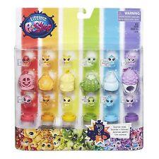 Littlest Pet Shop Rainbow Collection Pet Pack Little Girl Toys Wearable Teensie