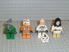 Lego ® Star Wars 4x personaje Clone Trooper Jedi 10188 75159 75192 9516 accesorios f926