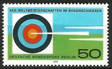 Germany Berlin 1979 MNH Sport Archery Championship Target  Mi 599 SG B574
