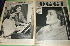 Hui 1957 Grace KELLY + Gina Lollobrigida + Franca Marzi + Boxe Giancarlo