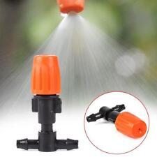 1/10x Garden Plant Misting Ajustable Atomizing Sprinkler Nozzles Tee Irrigation#