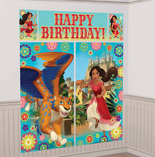 Disney PRINCESS ELENA of AVALOR  BIRTHDAY scene setter party wall decoration 6'