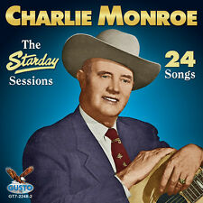 Charlie Monroe - Starday Sessions - 24 Songs [New CD]