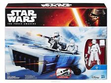 STAR WARS - Episode VII - First order Snowspeeder With Officer - HASBRO - NEUF