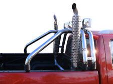 1x sidepipe sidepipes highpipes 120cm Jeep Wrangler TJ yj CJ escape deportiva