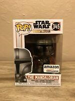 Funko Pop Star Wars Mandalorian Chrome Limited EDT Exclusive (IN HAND) Ships Now