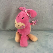 """Mothercare Pink Chime Pony Soft Toy 8"""" (MC370)"""