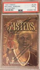 1997 Topps Finest Michael Jordan Masters PSA9