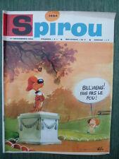 Journal SPIROU n° 1494 ( 52 pages)  du 1er  Décembre1966  - COMPLET