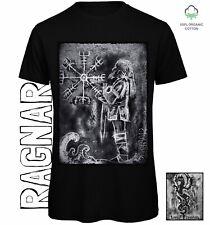 Ragnar T-shirt Sustainable Organic Cotton Eco Clothing Vikings Pagan Norse Myth