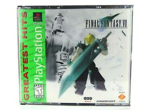 Final Fantasy VII 7 PS1 Sony PlayStation One Authentic Case Only