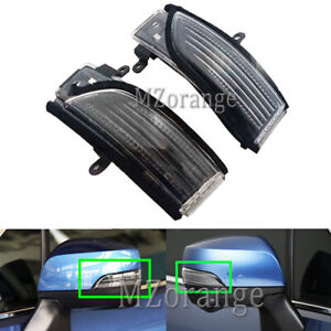 Left Right LED Wing Mirror Light Lamps For Subaru Forester Outback XV WRX Legacy
