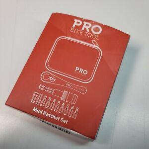 Ratchet Tool Mini Set Reliable Multitool Repair Kit By PRO BIKE
