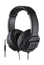 JVC Mr60x Headphones Bass Driven Sound 1-button Remote Control) Black