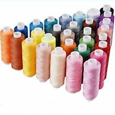Polyester Sewing Thread Spools Set For Hand Machine Line 30 Colors 250 Yards Kit