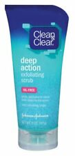 Clean & Clear Scrub Deep Action Exfoliating 5 Ounce Oil-Free (148ml) (2 Pack)