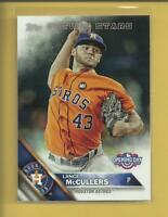 Lance McCullers 2016 Topps Opening Day Future Stars Card # OD-171 Houston Astros