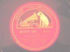 78 GIRI 30cm. Tenore ENRICO CARUSO canta MIA PECORELLA & CELESTE AIDA