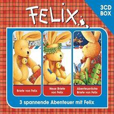 3 CDs * FELIX - IRIS GRUTTMANN - 3-CD HÖRSPIEL BOX VOL. 1 # NEU OVP !