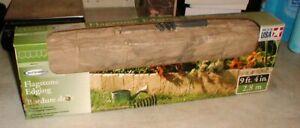 """Lot-3 SunCast Flagstone Edging 23"""" Resin Sections (9'4"""") Garden Border 3-Boxes"""