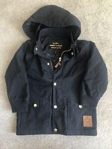 Mini Rodini Black Pico Coat 104/110