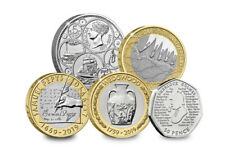 2019 Year of Issue British Commemorative Coins (2000s)
