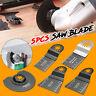5x Mix Oscillating Multitool Saw Blades For Fein Multimaster Bosch Ryobi Makita