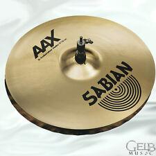 """Sabian 14"""" AAX X-Celerator Hi-Hats Cymbals - Brilliant - 21402XLB"""