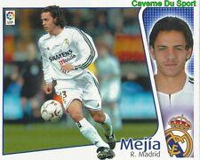 ALVARO MEJIA ESPANA REAL MADRID CROMO STICKER LIGA ESTE 2005 PANINI