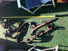 """New listing Antique Hames & Leather Strap Work Horse Harness, up to 2"""" wide straps; Fast S&H"""