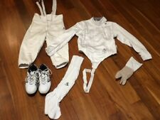 Absolute fencing outfit women's size 6 - jacket, pants, shoes, socks and glove