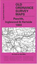 Mapa antiguo Ordnance Survey Penrith, Inglewood, Kirkoswald & hartside 1903