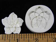 Poinsettia Flower Polymer Clay Mold (#MD1366)