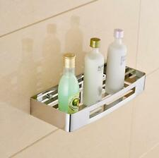 Shower shelf straight Soap basket Sponge Stainless Steel Bathroom Rack