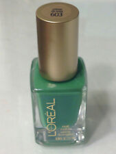 HTF NEW L'OREAL JELLY GELLIES MISS CANDY NAIL POLISH SHEER GREEN CREME DE MINT