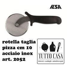 ROTELLA TAGLIA PIZZA TAGLIA PASTA ACCIAIO INOX CM 10 ILSA