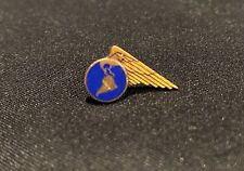 VINTAGE PAN AM AIRLINES 10k GOLD 1 STAR SERVICE EMPLOYEE PIN