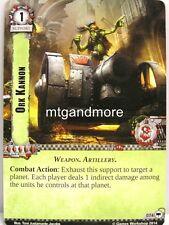 Warhammer 40000 Conquest LCG - Ork Kannon  #074 - Base Set