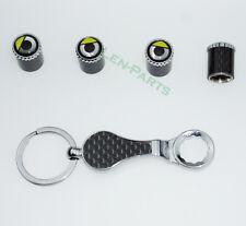 Neue 1Set Schlüsselbund Diebstahlschutz Reifen Stem Ventilkappen für Smart