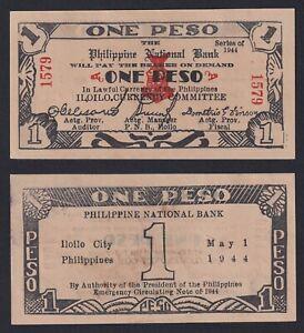 Filippine 1 peso 1944 FDS-/UNC-  B-09