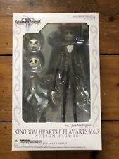 Kingdom Hearts 2 Play Arts Jack Skellington Figure Rare
