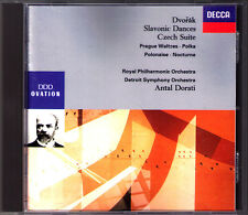 Antal DORATI: DVORAK Czech Suite Prague Waltz Nocturne Polonaise Slavonic Dances