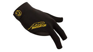 New Predator Second Skin YELLOW Logo - L/XL One size - RIGHT Hand Pool Glove