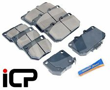 R90 ECE Rear Brake Pads /& Grease Fits Subaru Forester 2.5 XT 04-08