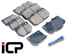 Front & Rear Brake Pads FREE Copper Grease Fits: Subaru Impreza WRX 2.0 2.5